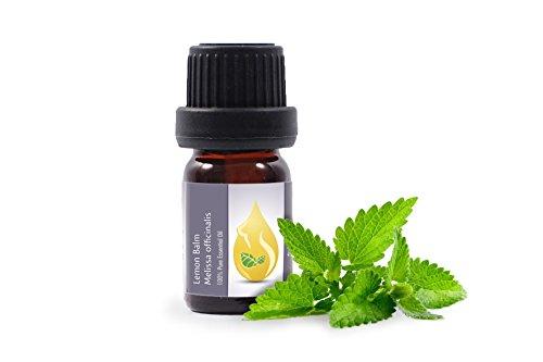 Melissa/Lemon Balm (Melissa officinalis) Essential Oil, 100% Pure, undiluted (5 ml (1/6 oz)