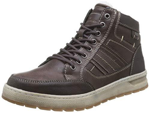 TOM TAILOR Herren 7981601 Klassische Stiefel, Braun (Brown 00012), 41 EU