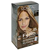 L'Oreal Feria Hi-Lift Browns Multi-Faceted Shimmering Colour, Level 3 Permanent, Hi-Lift Cool Brown B61 (Pack of 2)