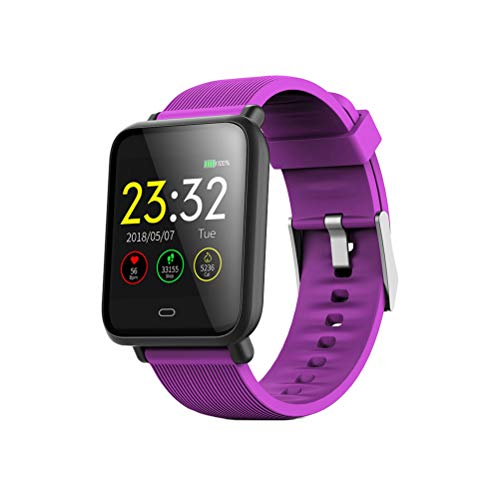 Q9 Smart Band Tracker Fitness Armband Farbe Bildschirm Pulsmesser IP67 Leben wasserdichte SmartWatch