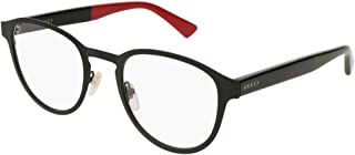 Gucci GG0161O Metal Panthos Style Eyeglasses 2 Sizes