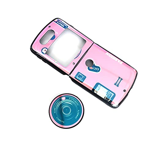 FainWan Für Motorola Razr 5G 2020 XT2071 Blade Folding Screen Flip Cover All-Inclusive Soft Shell Pink Silikon Schutzhülle