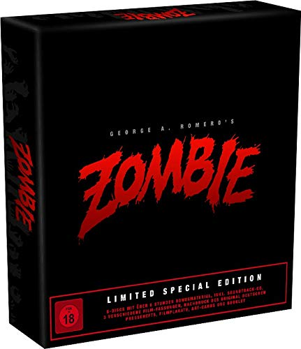 Zombie - Dawn of the Dead - Limited Special Box Edition - 6 Blu-rays, 4K UHD, CD, Booklet usw-