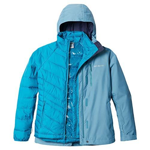 Columbia Whirlibird Iv Interchange Jacke, Damen, Whirlibird IV Interchange Jacket, Canyon Blue Cross Dye, 3X