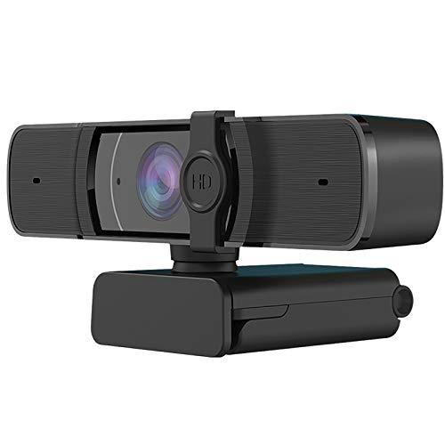 HD 1080P Webcam con Microfono, Plug and Play Cámara Web PC Laptop USB Web Camera Streaming Webcam per Casa e Ufficio