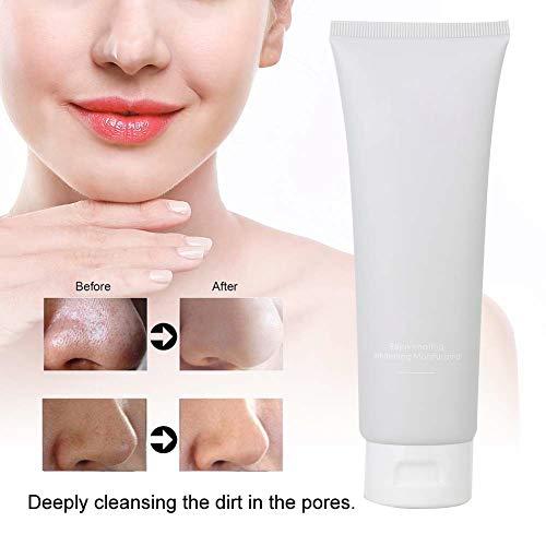 Crema limpiadora facial Gel de limpieza antipinillas diario, limpieza profunda, refinación de poros, limpieza suave para pieles sensibles, 100 g