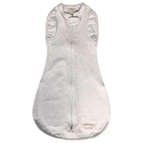 Woombie Convertible Baby Swaddling Blanket I Swaddle Converts to Arms-Free Wearable Blanket for Babies Up to 6 Months, Freebird, 14-19 lbs