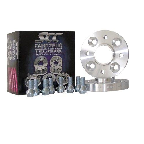 C&S SCC Distanzscheibe ALU 20mm für Adly Buggy, alle (Spurverbreiterung System 4) (LK 108/5 NLB 67,1) (40mm pro Achse)