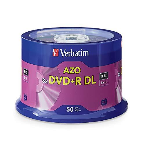 Verbatim Dvd+R DL 8.5GB 8X 50 PK 8,5 GB 50 Pezzo(i)