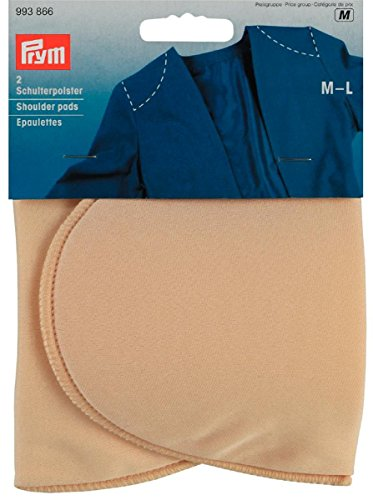 Épaulettes taille M-L demi-lune couleur chair de Prym 993866
