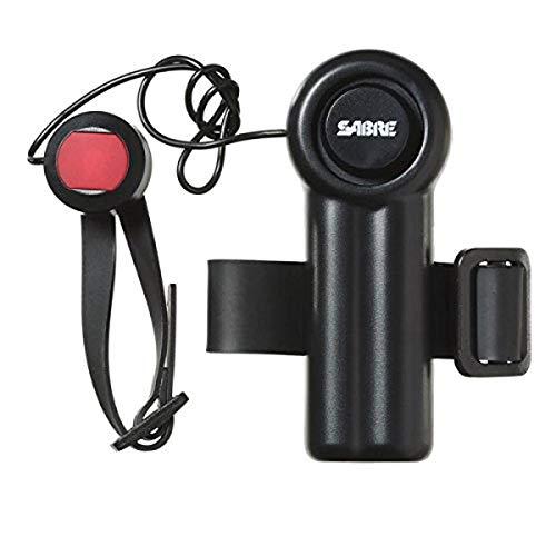 SABRE PA-MDA Mobilitätsgerät-Alarm mit lauter 120 dB Notfall-Paneiktaste – ideal für Gehhilfen, Rollstühle, Betten oder überall dort, wo ein Rufe um Hilfe benötigt wird