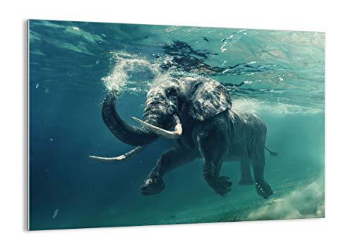 Bild auf Glas - Glasbilder - Einteilig - Breite: 70cm, Höhe: 50cm - Bildnummer 3944 - zum Aufhängen bereit - Bilder - Kunstdruck - GAA70x50-3944