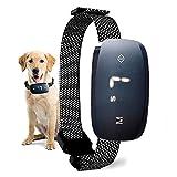 XCUGK Collar Antiladridos para Perros, con 3 Modos de Entrenamiento Tono pitido vibración Choque Recargable y Resistente al Agua con Collar Ajustable para Perro