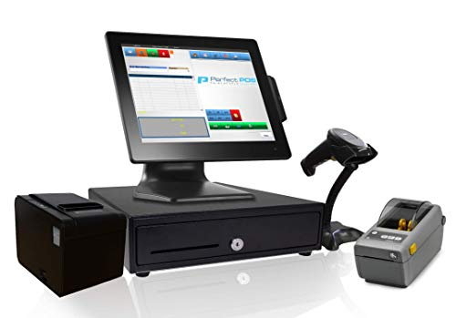 Retail Point of Sale System - Includes Touchscreen PC, POS Software (Retail POS...