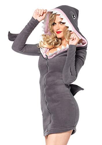 Leg Avenue Costume Femme Requin Gris Taille XL