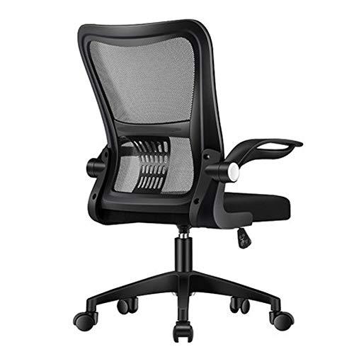 JIE. SXRTLComputer silla silla de oficina cómodo personal sedentario reunión asiento respaldo estudiante elevación silla giratoria arco silla,4