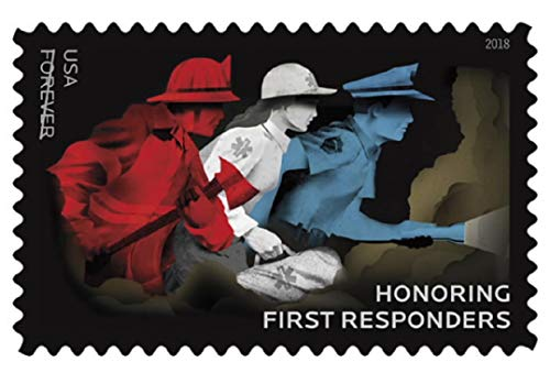 USPS Honoring First Responders Forever Stamps (1 Sheet of 20)