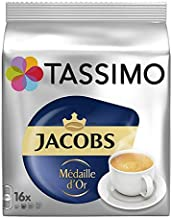 Tassimo Jacobs Me'Daille D'Or 16 T-Discs (Pack Of 3)