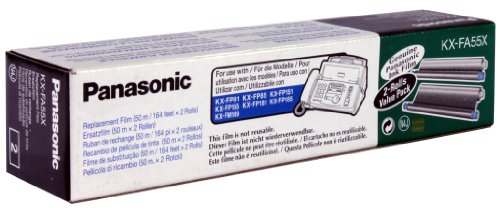 Panasonic KX-FA55X KX-FP151, FP181, FP185 Thermofarbband schwarz 2x140 Seiten
