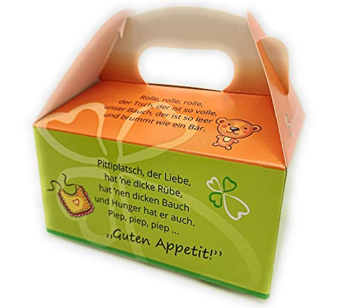Tischspruch Box Würfel - Tischsprüche für Kinder - Geschenkverpackung