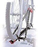 Peruzzo Uni Bike, Portaciclo Auto da Tetto Unisex-Adulto, Nero, Unica