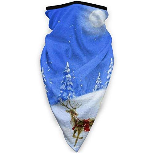 C/N Noche de Navidad Árbol de Nieve al aire libre Cara Máscara de la boca a prueba de viento Deportes Máscara de Esquí Escudo Bufanda Bandana Hombres Mujer
