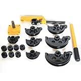 Curvadora manual de alto rendimiento para tuberías, curvadora de tubos, curvadora de tubos, 10-25 mm