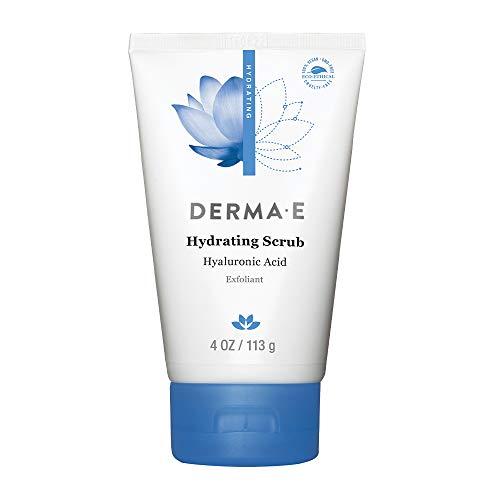 DERMA E Hydrating Scrub with Hyaluronic Acid, 4 oz