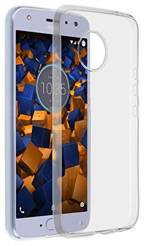 mumbi Hülle kompatibel mit Motorola Moto X4 Handy Hülle Handyhülle dünn, transparent, ultra slim