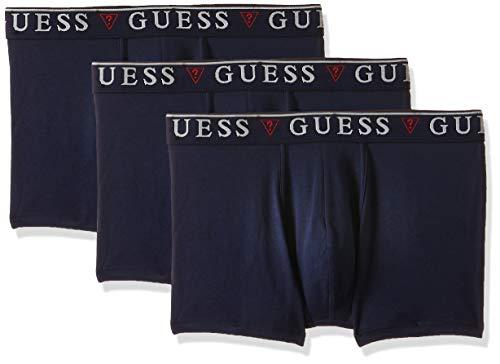 Guess Herren Boxershort 3er Pack Hero Navy, Wäschegröße:XL