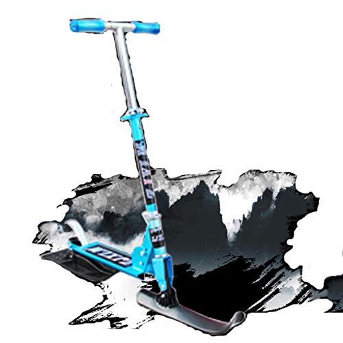 Rory Multifunktions-Scooter Ski Fahrzeug Super Kühle Skate Auto Schlitten Schlitten Für Outdoor-Aktivitäten Maximale Last 120Kg Für Kinder,Blau