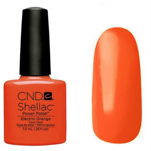 CND SHELLAC - Electric Orange, 7 ml