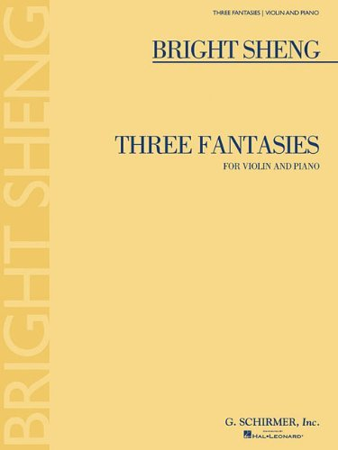 [(3 Fantasies: For Violin and Piano)] [Author: Cho-Liang Lin] published on (September, 2008)