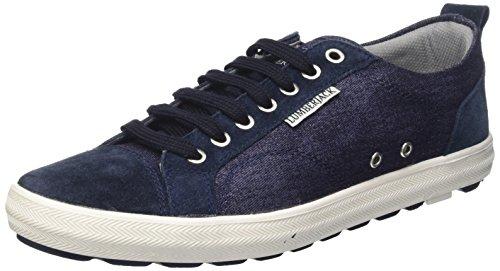 Lumberjack Wolf, Sneaker a Collo Basso Uomo, Blu (Navy Blue), 41 EU