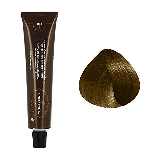 Coloration permanente sans ammoniaque aux 5 huiles 6.32 : Blond Foncé Beige Kin Cosmetics