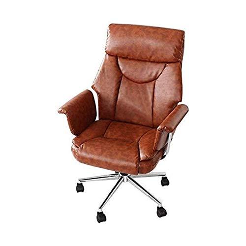 HAOSHUAI High Back Chair, Büroschreibtischstuhl, moderner Exekutive Rolling Swivel für Frauen