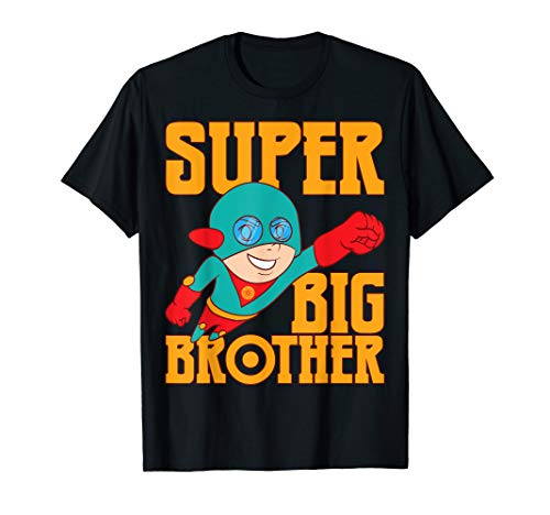 Super Awesome Superhero Best Big Brother T-Shirt