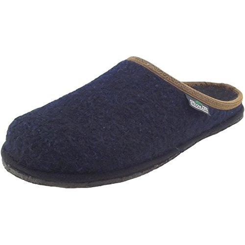 Stegmann 301 301 Unisex Walkfilz-Pantoffeln, dunkelblau (Dark Blue), Gr. 37