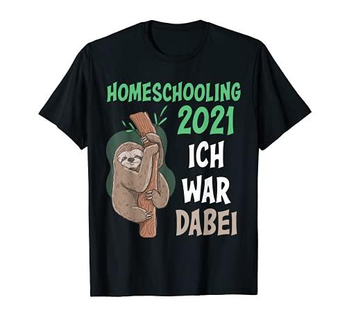 Homeschooling Geschenk für Schüler Lehrer Mädchen T-Shirt