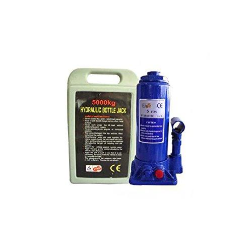 JBM 51907–Gato hidráulico de Botella en maletín de plástico 5toneladas
