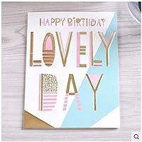 Zhangzidong ありがとうカード祝福執筆紙カードギフト装飾カード挨拶クリスマスカード結婚式誕生日パーティー招待状カード-8