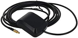 DealMux Antena Activa GPS SSMB Macho Recto 3M, 27dB LNA Ganancia 1575.42MHz Señal Activa de GPS Antena más Fuerte