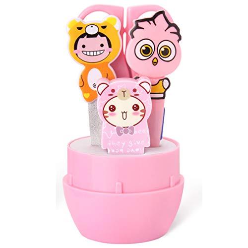 Set de Manicura para Bebés LORYLOLY   4 6 10 Piezas Kits de Aseo para Bebés, Cortaúñas - Selección de Orejas LED - Recortadora - Lima - Pinzas   Kit para el cuidado de las uñas, orejas y nariz