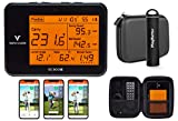 Swing Caddie SC300i by Voice Caddie Launch Monitor Power Bundle   2021 Release   PlayBetter Portable Charger & Protective Case   Carry/Total Distance, Smash Factor, Swing Speed   Video Swing in App