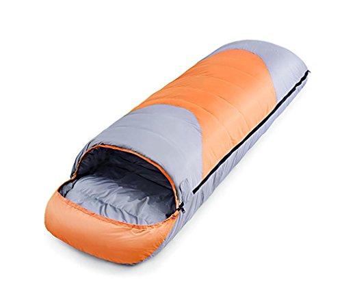 Enveloppe Canard Sac de couchage Automne et Hiver Saison Adulte extérieur peut être connecté -20 ° C-35 ° C , Orange