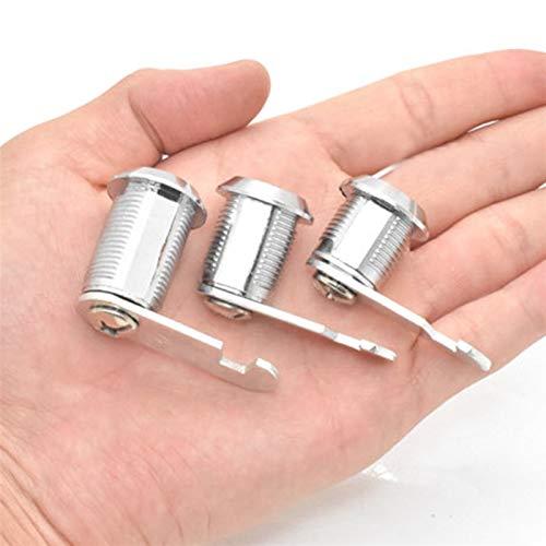 GTUQ Cerradura de Cilindro roscada Cerradura de Leva Accesorios Muebles con cajones buzón de Armario de Llaves para armarios, cajones (Color : D)