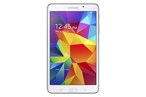 Samsung Galaxy TAB 4 25,7 cm (10,1 Pollici) Tablet (Processore Quad Core 1.2 GHz, 1GB RAM, Memoria interna 16GB espandibile tramite MicroSD, Fotocamera 3.0Mpx + 1.3Mpx frontale, Wi-Fi, Android 4.4 Kit Kat) Bianco [Italia]