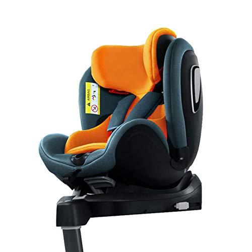 QYT-Silla Coche bebé, 0-25 kg, Silla Auto bebé reclinable, Crece con el niño Desde 1 Meses hasta 7 años,para Coches con y sin Isofix,B