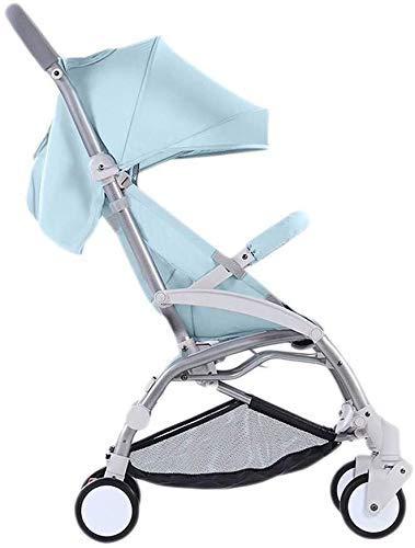 kyman Tricycle Kids Trike Baby Stroller Wagon Portátil Plegable Bebé Coche Ligero PRAM LIGHTHE PRÁFICO BEBÉ Caliente Caliente Caliente Push Push Silla (Color: Sky Blue) (Color : Sky Blue)