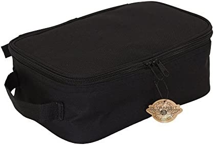 Household Essentials 6706 Grooming Toiletry Travel Bag Organizer for Men and Women, Black, Pack of 1